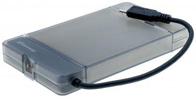 """Внешний карман Grand-X для HDD 2.5"""" USB 3.1 Type-C (HDE31)"""