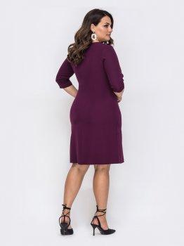 Платье Dressa 49876 Бордо