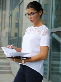 Блузка Dressa 10225 Біла