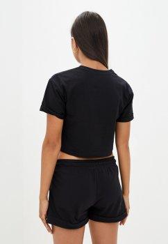 Костюм Solo Спортивный футболка с шортами Черный Wm11