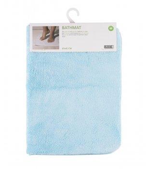 Килимок у ванну кімнату Smart Bathmat Мікрофібра 65х45см Блакитний