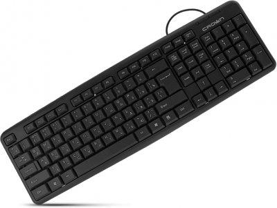 Клавіатура дротова Crown CMK-02 USB ENG UKR RUS (CMK-02)