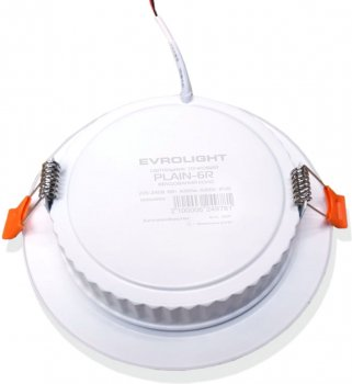 Світильник точковий Evrolight PLAIN-6R 6Вт 4200К (56828) 2шт