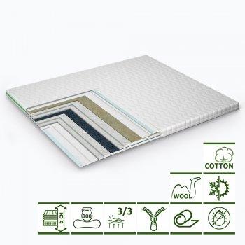 Тонкий матрас-топпер Green Streem Ultra 180х200 см (02022020-21-18) (2020211802000)