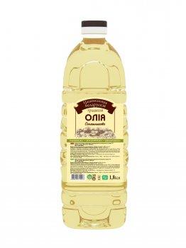Подсолнечное масло НБТ рафинированное, дезодорированное 1,8л