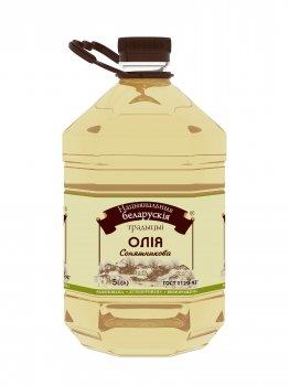 Подсолнечное масло НБТ рафинированное, дезодорированное 5л