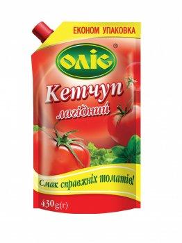 Кетчуп ОЛІС Лагідний 430г