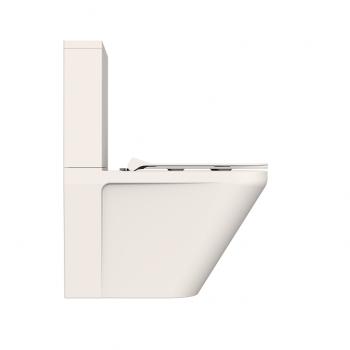 Унитаз-компакт DEVIT Up безободковый с сиденьем New Soft Close Quick-Fix дюропласт (3010120)
