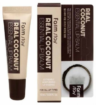 Бальзам для губ FarmStay Real Coconut Essential Lip Balm с кокосом 10 мл (8809632883201)