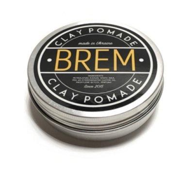 Глина для укладання волосся Brem Clay Pomade