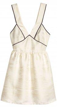 Платье H&M 4079724 Молочное