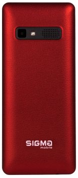 Мобільний телефон Sigma mobile X-Style 36 Point Red (4827798331316)