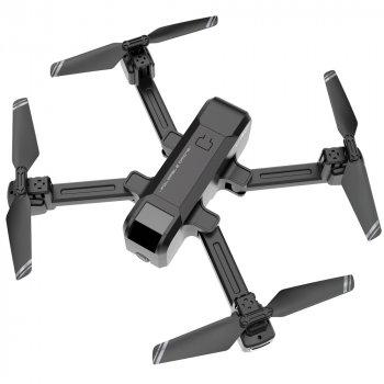 Дрон Blitz HS107 UHD 4K камера, полет 18 мин + доп. аккум. Серый