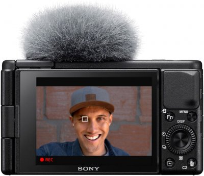 Фотоапарат Sony Vlog Camera ZV-1 Black (ZV1B.CE3) Офіційна гарантія!