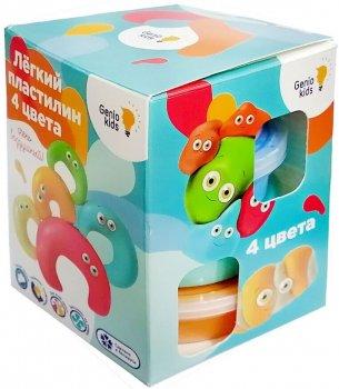 Набор для лепки Genio Kids Лёгкий пластилин 4 цвета (TA1714) (4814723007668)