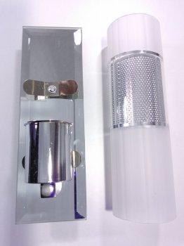 Світильник настінний/стельовий Sunnysky (8,5х6,5х19,5 див) Хром YR-T9150/1 60 Вт матовий плафон