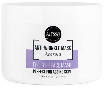 Альгинатная маска для лица Alesso с Ацеролой против морщин 200 г (3273629230432)