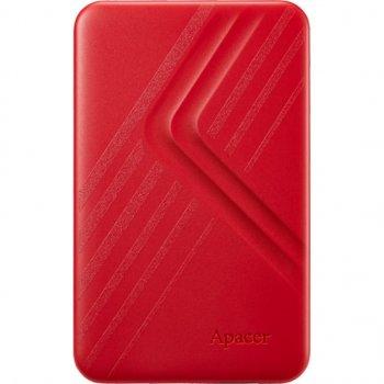 """Жорсткий диск зовнішній Apacer USB 3.2 Gen1 AC236 1TB 2,5"""" Червоний (AP1TBAC236R-1)"""
