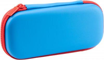 Пенал с тиснением Cool For School 1 отделение Голубой (QT-5698-Blue)