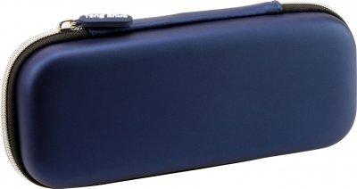 Пенал с тиснением Cool For School 1 отделение Голубой (6578-blue)