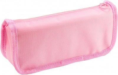 Пенал твердый с аппликацией Cool For School 2 отделения Розовый (7480-pink)