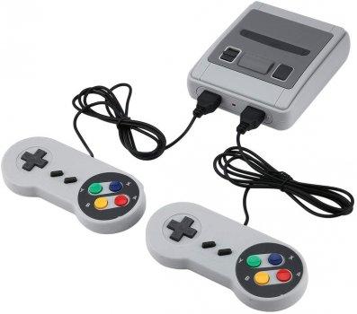 Ретро ігрова консоль приставка 620 ігор з 2 джойстиками Super Mini SFC
