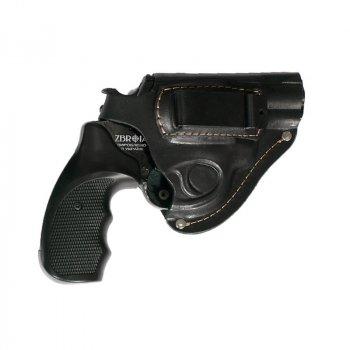 """Кобура поясна Карабін для револьвера 2.5"""" (скоба) (K008) + тренчик"""