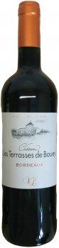 Вино Chateau Terrasse De Bouey 2018 Bordeaux червоне сухе 0.75 л 13% (3760045356872)
