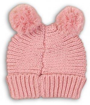 Зимняя шапка Minoti Bunny 14 10056 46-48 см Розовая (5059030089313)