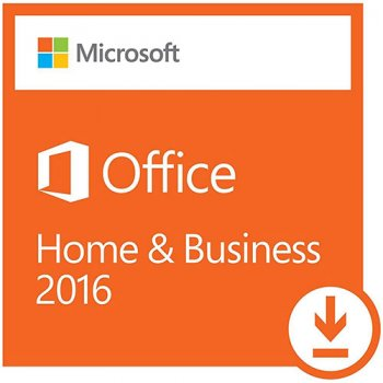 Офисные приложения Microsoft Office Для дома и бизнеса 2016 для 1 ПК (ESD – электронная лицензия, все языки) (T5D-02322)