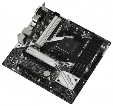 Материнська плата ASRock A520M Pro4 (sAM4, AMD A520, PCI-Ex16)