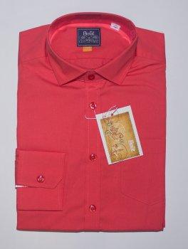 Рубашка BoGi casual Коралловая (001.001.0252.29)