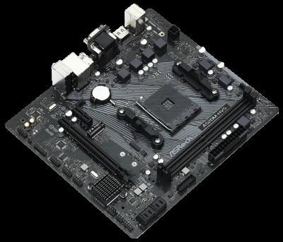 Материнська плата ASRock A520M-HVS (sAM4, AMD A520, PCI-Ex16)
