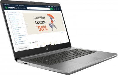 Ноутбук HP 340S G7 (2D194EA) Asteroid Silver