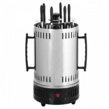 Электрошашлычница на Domotec MS-5600 1000 Вт Grey (zhb0451)