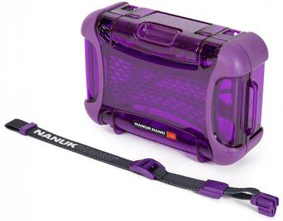 Компактний захисний кейс Nanuk NANO 330 Purple (330-0013)