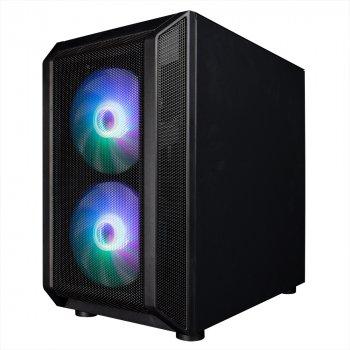 Корпус 1stPlayer D3-G7-PLUS RGB Black без БЖ