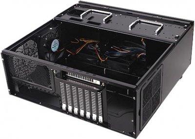 Корпус Silverstone Grandia SST-GD07B Black (SST-GD07B)