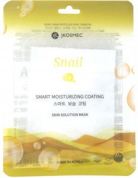 Маска для лица с муцином улитки Jkosmec Skin Solution 25 мл (8809540519025)