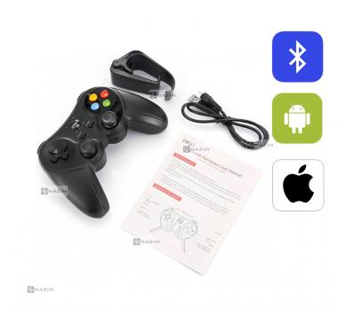 Беспроводной Геймпад Джойстик Bluetootht іРеgа PG-9078 + держатель для смартфона - для PC iOS Android Smart TV