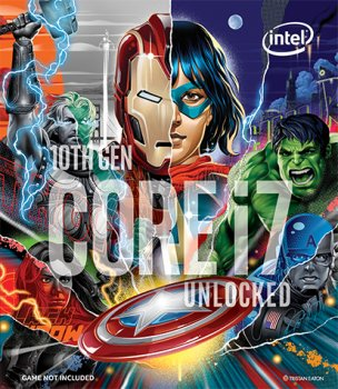 Процесор Intel Core i7-10700K 3.8 GHz / 16 MB (BX8070110700KA) s1200 Marvel's Avengers Collector's Edition BOX