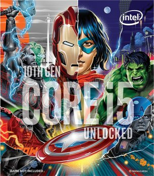 Процесор Intel Core i5-10600K 4.1 GHz / 12 MB (BX8070110600KA) s1200 Marvel's Avengers Collector's Edition BOX