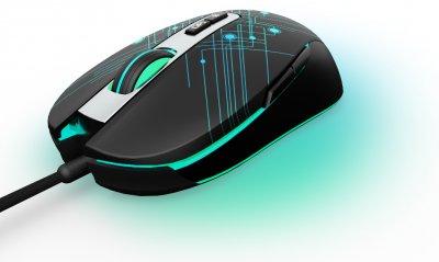Миша GamePro Neon USB Black (GM398)