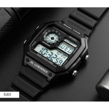 Часы наручные 1299 SKMEI, черные