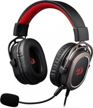 Навушники Redragon Helios 7.1 Black + Red (77675)