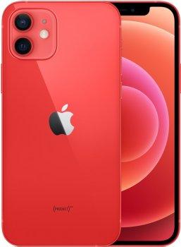 Мобільний телефон Apple iPhone 12 64GB PRODUCT Red Офіційна гарантія