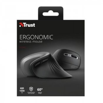 Мышка Trust Verro Ergonomic Wireless Black (23507)
