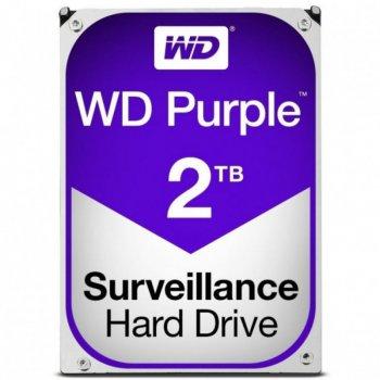 Жорсткий диск Western Digital Purple 2TB 5400rpm 64MB WD20PURZ 3.5 SATA III