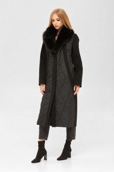 Пальто Mila Nova ПВ-186н Черное