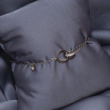Браслет серебряный 925-5609-1